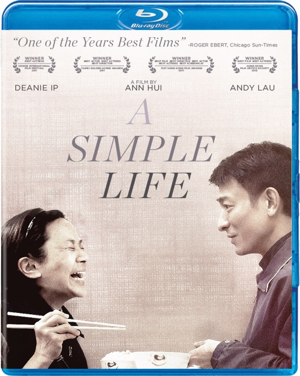 A Simple Life Blu-ray Box Art