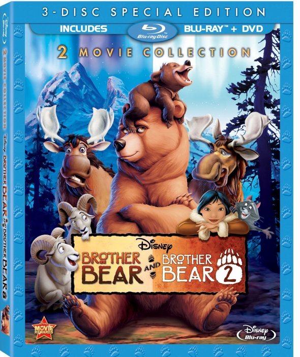 BrotherBear2MovieCollectionBlurayComboArt